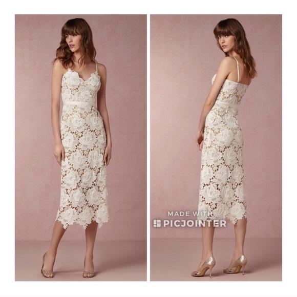 2a52aec7f1c0 BHLDN Dresses   Skirts - BHLDN Catherine Deane Lace Frida Dress 8